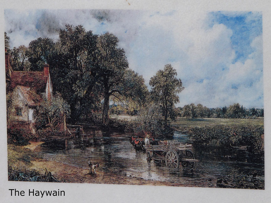 The location of 'The Haywain' picture